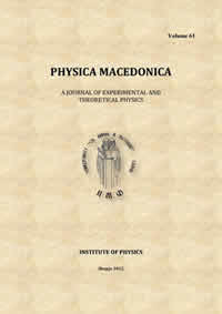 Physica Macedonica volume 61