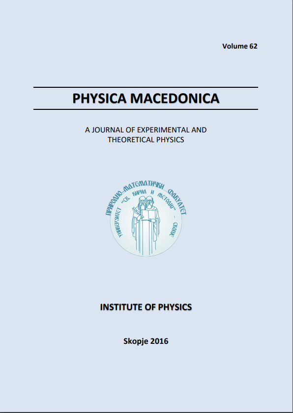 Physica Macedonica - Volume 62